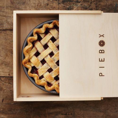 Decorative Recipe Box 2: Piebox Designs Decorative Pie Carry Box From Martha