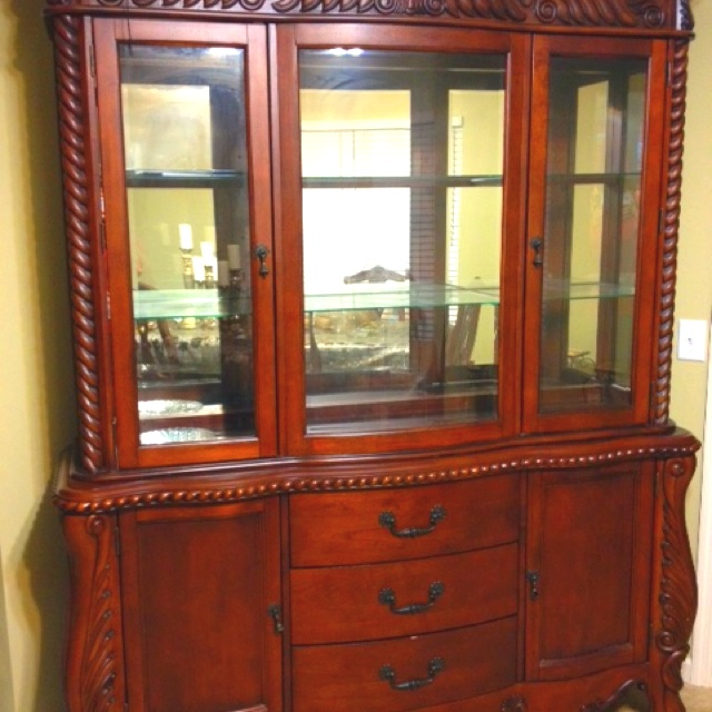 Moms china cabinet for sale... In the Nashville area.. Let me know if you r interested ...