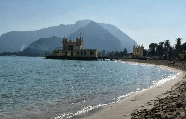 Beach in Mondello