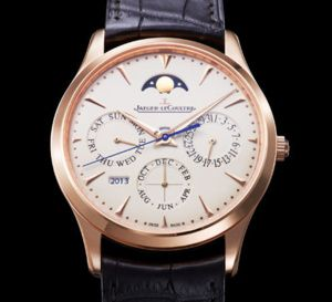 Jaeger-LeCoultre Master Ultra Thin Perpetual : QP ultraplat