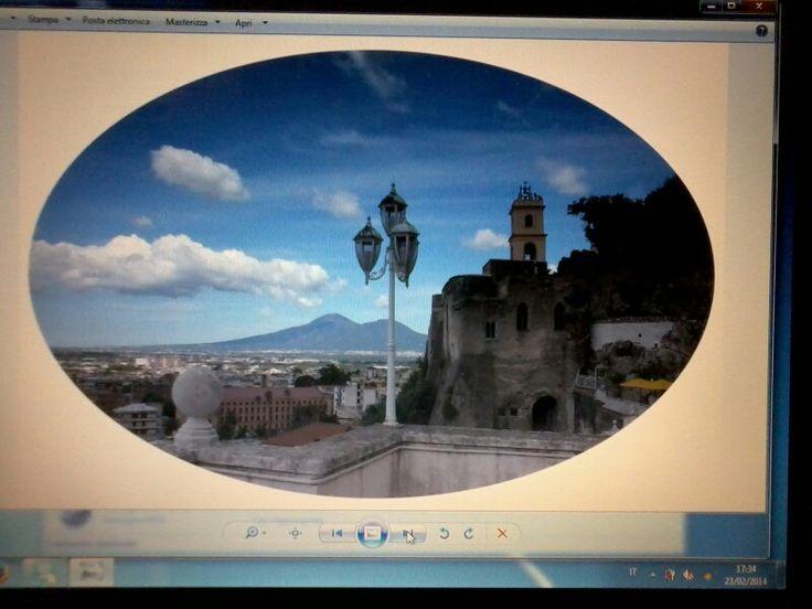 Sarno borgo antico e Vesuvio