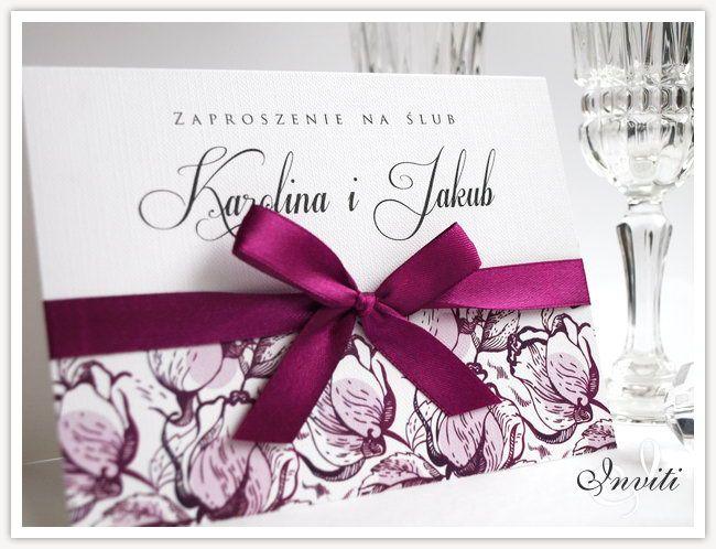 Florale A5 Zaproszenia ślubne 24 wzory PROMOCJA!! (4945655753) - Allegro.pl - Więcej niż aukcje.