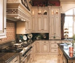 home improvement old world kitchen design ideas - Old World Kitchen Cabinets