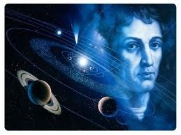 Nicholas Copernicus Polish astronomer  the first mathematically based system of planets going around the sun.Copernicus referred sometimes to God in his works, and did not see his system as in conflict with the Bible.