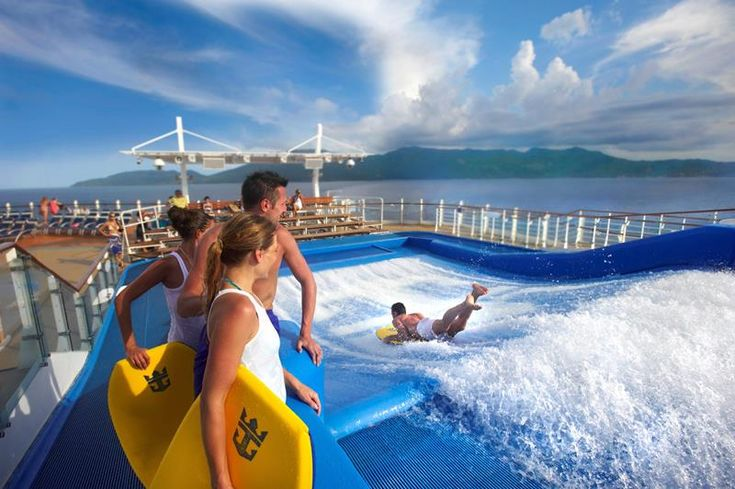 Will the Biggest Cruise Ship Ever Built Change Cruising Forever? (45 Pictures)  There Are Two Flowriders  With A Surfing Experiance