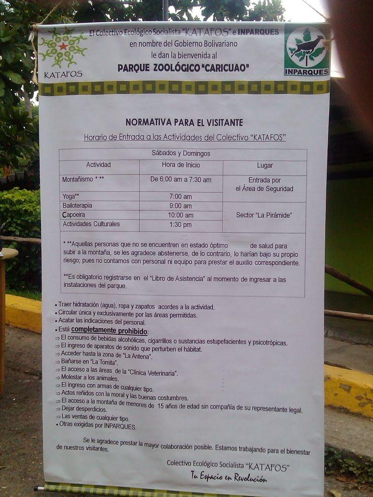 Profesor Luis Romero: Ruta de la Montaña, Parque Zoológico Caricuao