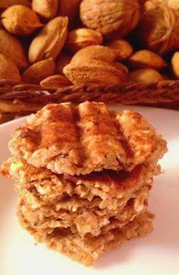 Mamã Paleo: Bolachinhas Crocantes de Noz (em 5 minutos)