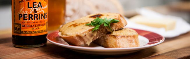 Lea and Perrins Cheese on Toast Recipe