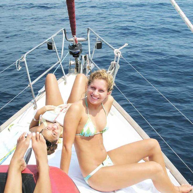 Sail-a-long from Rhodes | Meezeilen vanaf Rhodes | Sail in Greece Rhodes | sail-in-greece.net