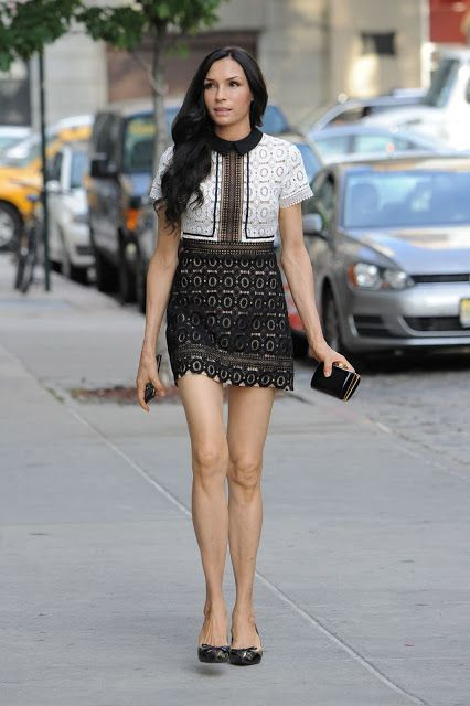 Famke Janssen is Looking All Stylish  Out in Manhattan June-2016  actress Famke Janssen