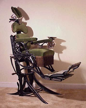 Morrison dental chair - 1880s