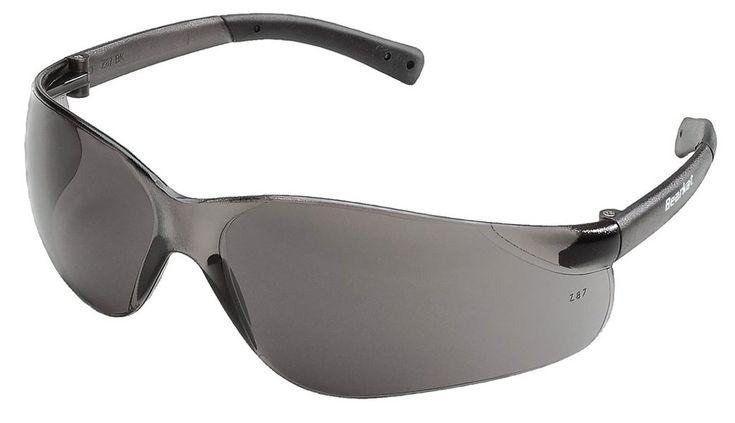 Bearkat grey tinted lens safety glasses case of 12
