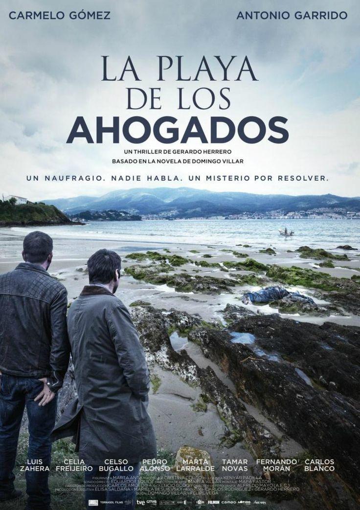 La playa de los ahogados (2015) España. Dir.: Gerardo Herrero. Thriller - DVD CINE 2425