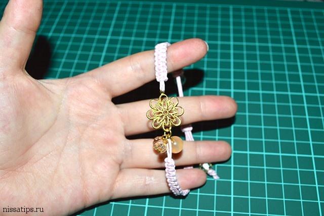 DIY Пошаговая инструкция макреме браслет в романтичном стиле | Nissa's tips