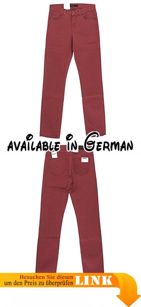 Angels, Cici, Damen Jeans Hose, Gabardine Stretch, weinrot, D 38 L 28 Inch 29 short [18116].  #Apparel #PANTS