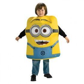 Rub - Ich unverbesserlich 2 Kinder Kostüm Minion Dave Karneval   Partykaufhaus