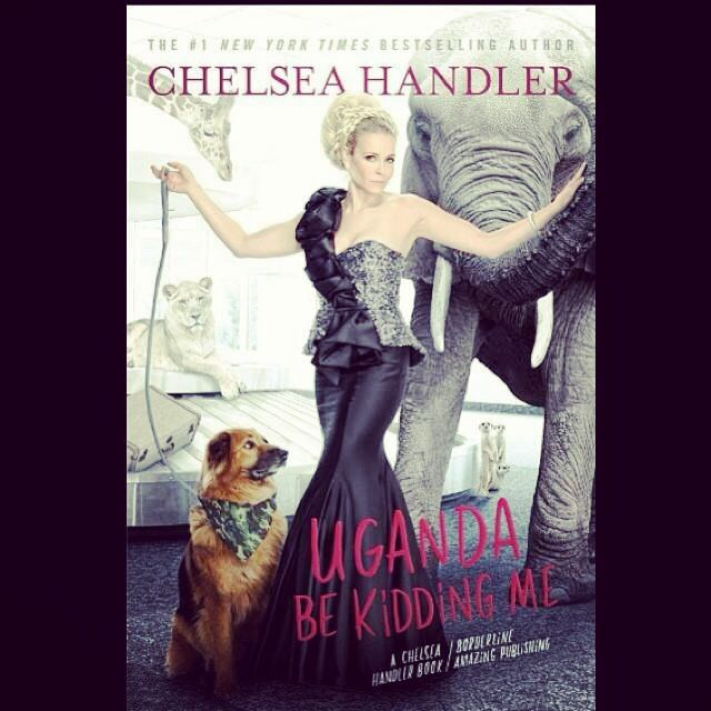 New book by Chelsea Handler... So excited!