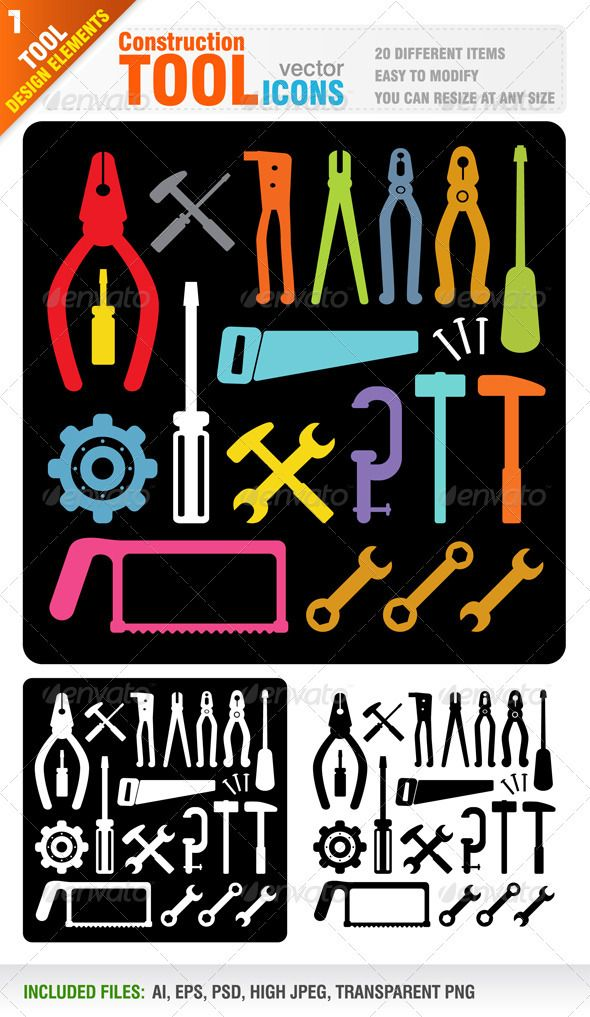 #TransparentPNG #JPGImage #VectorEPS #AIIllustrator Layered: Yes MinimumAdobeCSVersion: CS Tags: black #building #carpentry #construction #equipment #hammer #hummer #icon #jaw #kit #length #mechanic #object #pliers #plumber #repair #screw #set #silhouette #spanner #stack #steel #symbol #tape #tool #vector #white #work #worker #wrench
