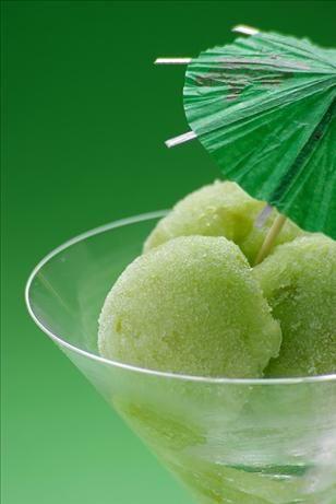 Green Apple Sorbet - 5 ingredients