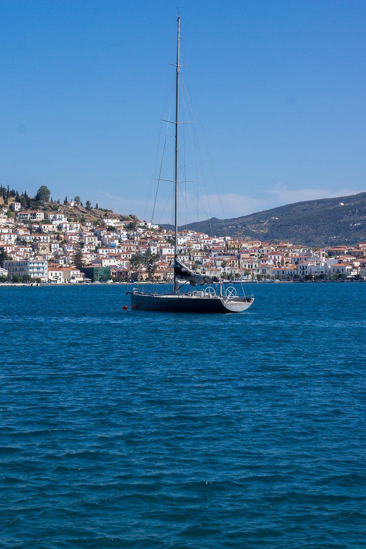 Grece, Poros Island, Attica_ Greece