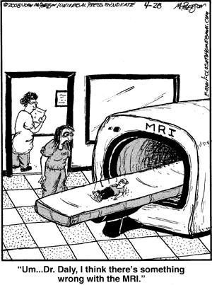 Time to fix the MRI