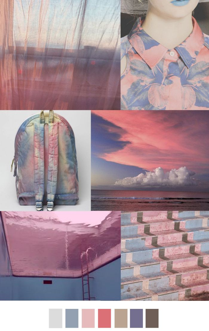 TREND #Summer2017 #washedOUT Sources@patterncurator TWILIGHT TINTS