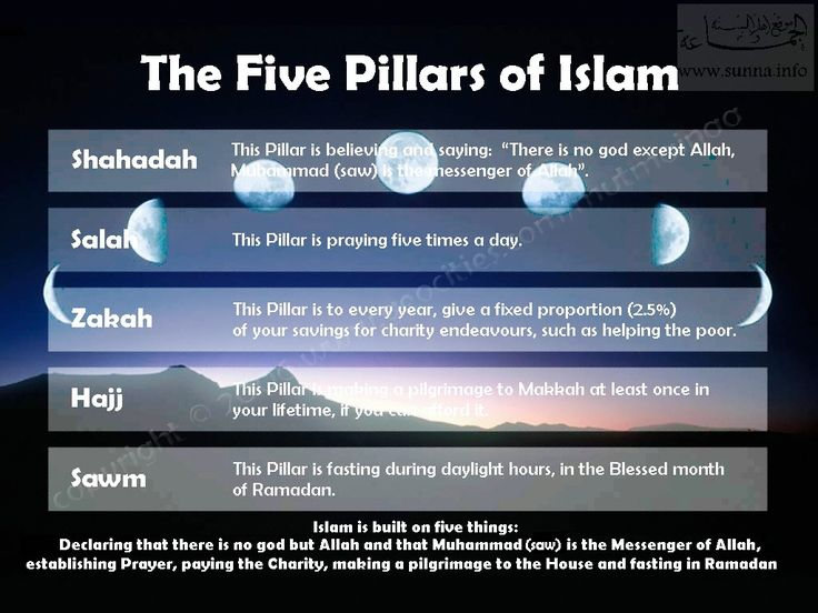Submission to the will of allah, the five pillars and the six major beliefs essay