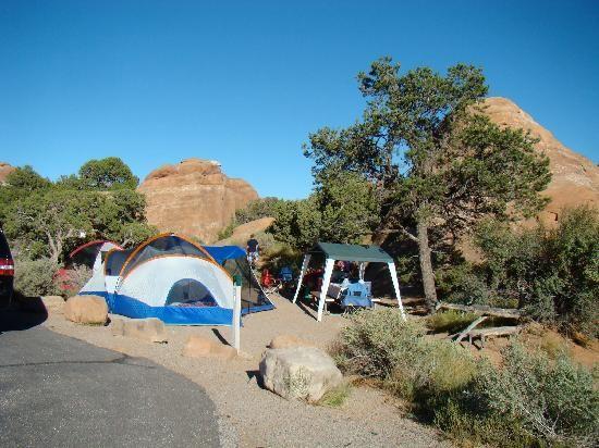 Devil's Garden Campground, Arches