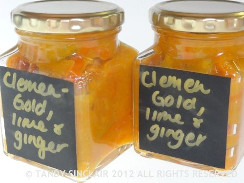 ClemenGold, Lime And Ginger Marmalade