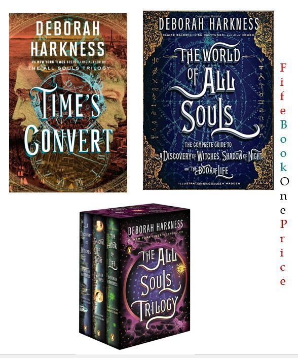 Souls Trilogy Boxed Set Gripping Reads Bewitching Novels By Deborah Harkness Notavailable Deborah Harkness All Souls Trilogy