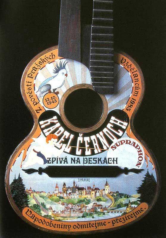 painting guitar by Mirka V.