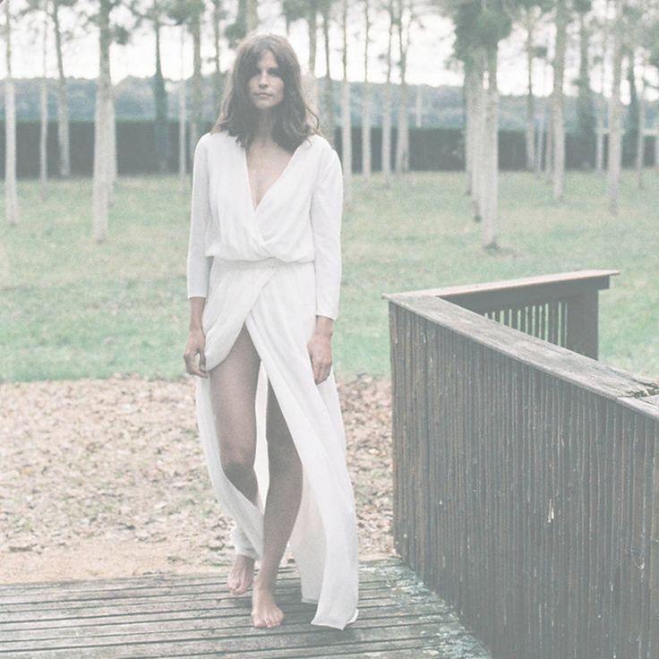Robe de mariée fendue Donatelle Godart