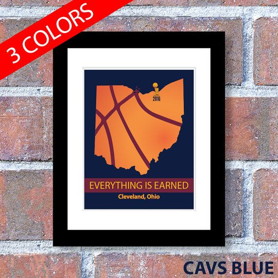 Cleveland Cavs Cavs Championship State of Ohio by MediaCardinal
