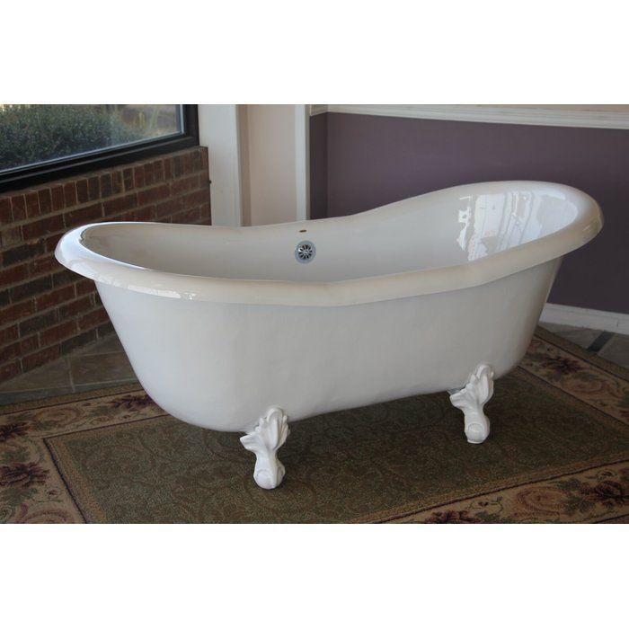 Duchess 68 Quot X 30 Quot Freestanding Soaking Bathtub Clawfoot