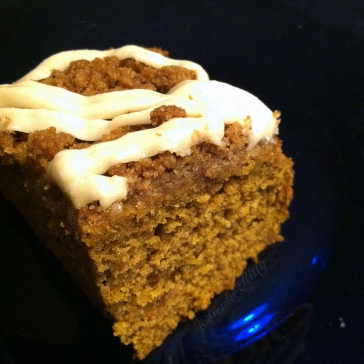 Vegan Pumpkin Coffee Cake Recipe