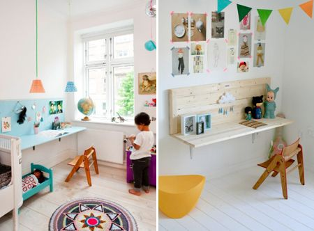 Wall-mounted desks Children's Desks | House & Home