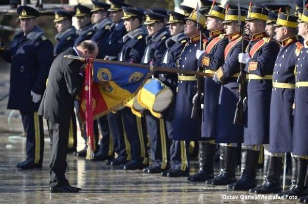 Our President, Mr. Traian Basescu.