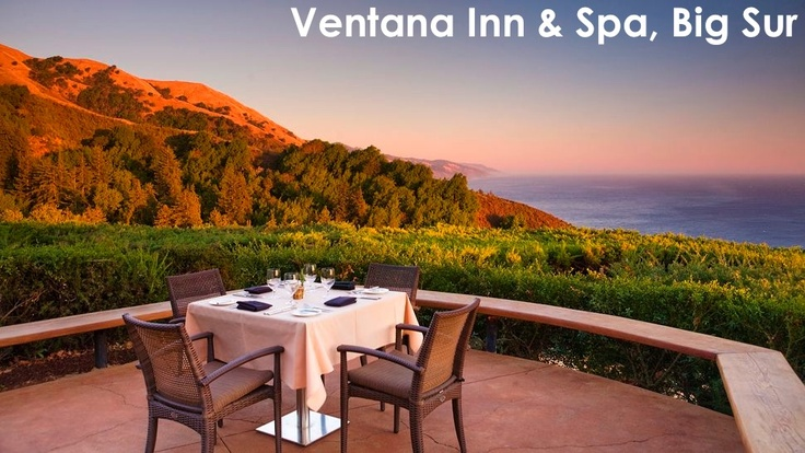 Ventana Inn Spa Sur California Hotels Ca Places To Go Pinterest And