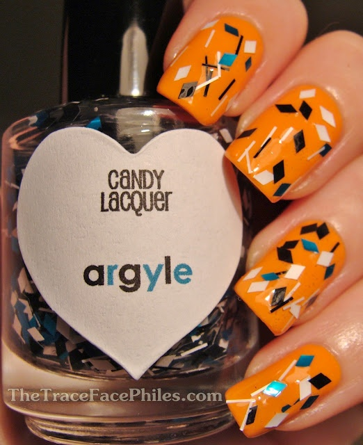 The TraceFace Philes: Candy Lacquer Argyle!: Polish Collection, Lacquer Argyle, Indie Polish, Argyle Bn, Shiny Nails, Candy Lacquer, Nails Polish, Lacquer Indie, Paintings Nails