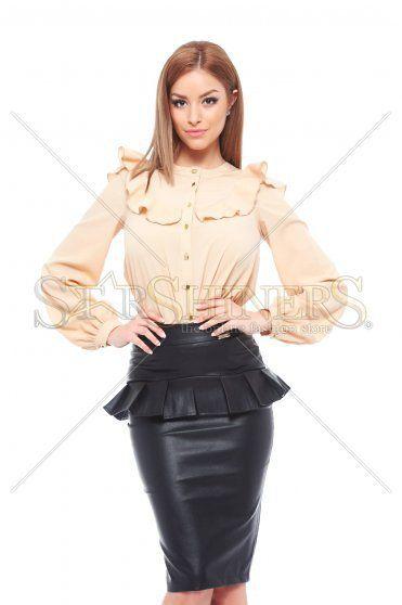 PrettyGirl Style Cream Shirt