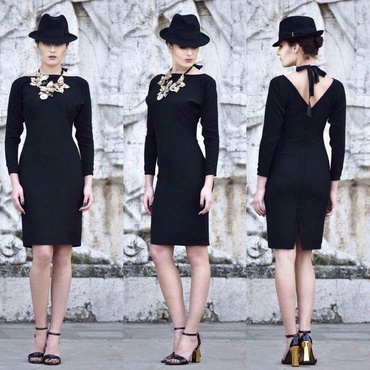Rhea Costa Little Black Dress
