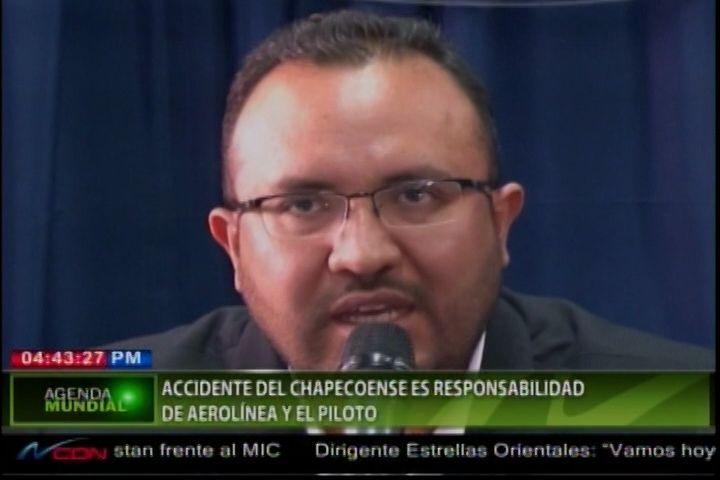Responsabilizan La Aerolínea Y Al Piloto Del Accidente De Equipo Chapecoense