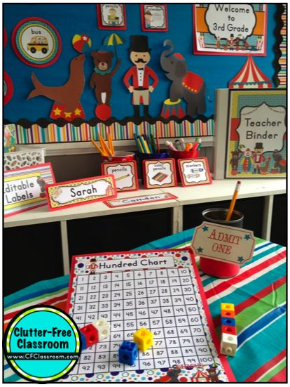 Classroom Decor Websites : Best images about carnival circus classroom theme