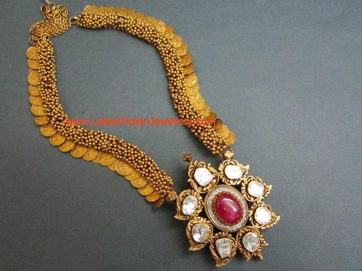 Pachi Pendant Gold Kasu Mala