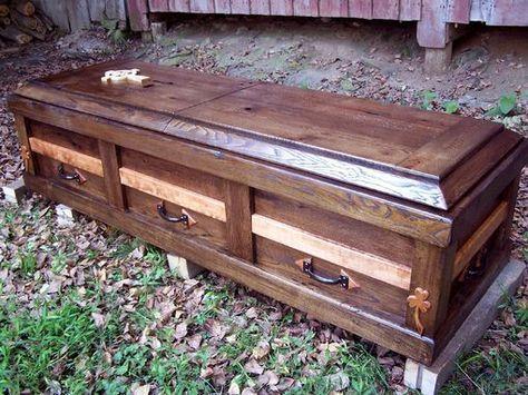 48 Best Wooden Caskets Images On Pinterest Casket