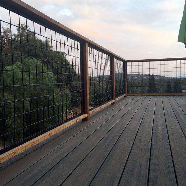 Top 70 Best Deck Railing Ideas – Outdoor Design Inspiration – exteriors