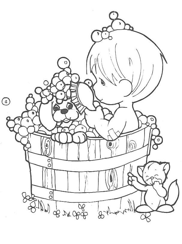 The 168 best Precious Moment Coloring Pages images on Pinterest ...