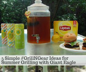 Try a unique Cold Brew Iced Tea Recipe using Lipton Tea!