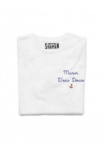 T-shirt brodé Marin d'eau douce