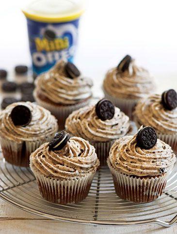 Cupcakes OREO | Γλυκά, Γλυκά με Oreo | Athena's Recipes